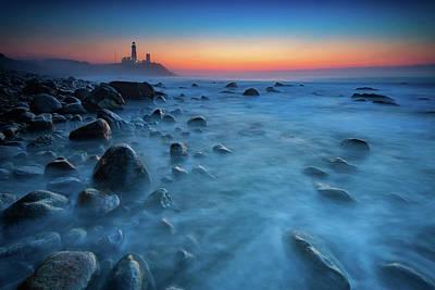 The End Photograph - Blue Tide by Rick Berk