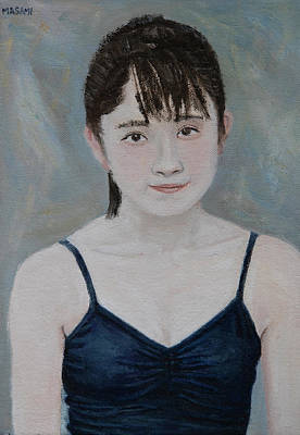 Painting - Blue Top by Masami IIDA