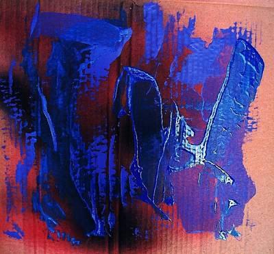Blue Tornado Art Print by Bruce Combs - REACH BEYOND