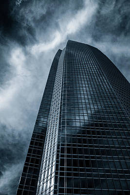 Photograph - Blue Tower by James Barber