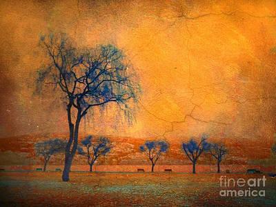 Photograph - Blue Trees And Dreams by Tara Turner
