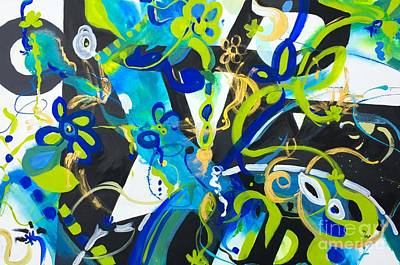Painting - Blue Two by Patsy Walton