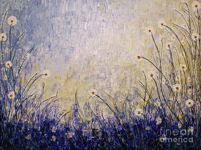 Painting - Blue Valley by Jane Chesnut
