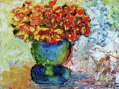 Painting - Blue Vase by Lynda Cookson
