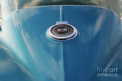 Photograph - Blue Vette by Dennis Hedberg