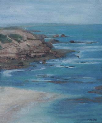 Painting - Blue Water by Masami Iida