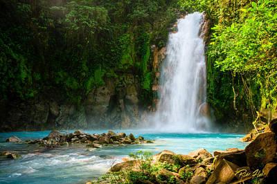 Photograph - Blue Waterfall by Rikk Flohr