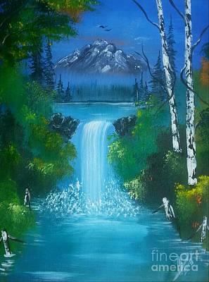 Blue Waterfalls Original