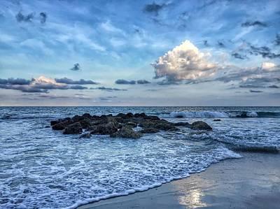 Photograph - Blue Waters by Juan Montalvo
