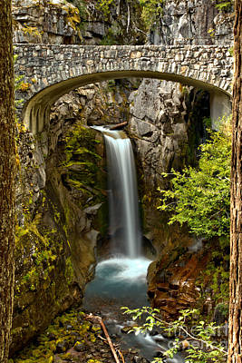 Photograph - Blue Waters Of Christine Falls by Adam Jewell