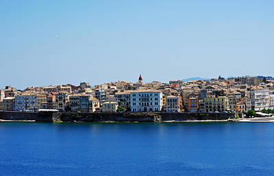 Photograph - Blue Waters Of Corfu by Robert Moss