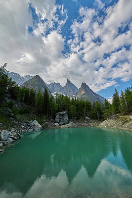 Photograph - Blue Waters Of The French Alps by Jon Glaser