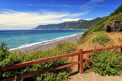 Photograph - Blue Waters Of The Lost Coast by James Eddy