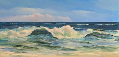 Painting - Blue Wave by Jim Christley