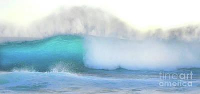 Photograph - Blue Wave by Kristine Merc