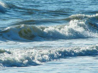 Photograph - Blue Waves by Jennie  Richards