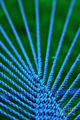 Photograph - Blue Weave by Xn Tyler