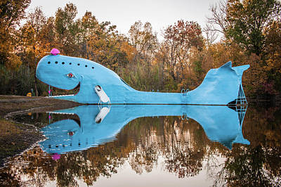 Photograph - Blue Whale Route 66 - Catoosa Oklahoma by Gregory Ballos