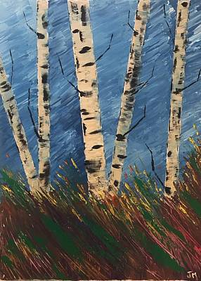 Painting - Blue Wind Blew by Jim McCullaugh