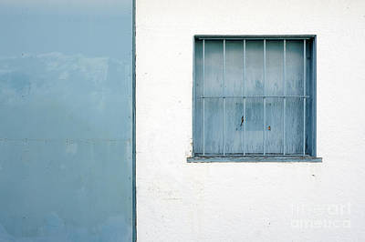Photograph - Blue Window by John  Mitchell