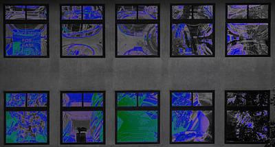 Photograph - Blue Windows by David Pantuso