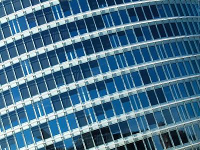 Photograph - Blue Windows by Helen Northcott