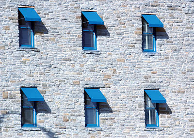 Photograph - Blue Windows by Ron Read