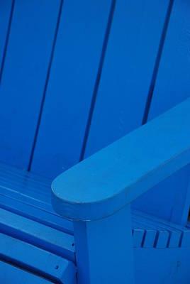 Blue Wood Original by Rob Hans