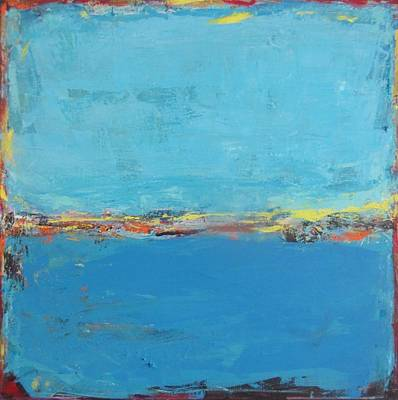 Painting - Blue World by Francine Ethier