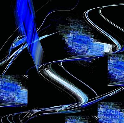 Digital Art - Blue1 by Vicki Lynn Sodora