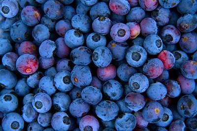 Photograph - Blueberries 2 by Kathryn Meyer