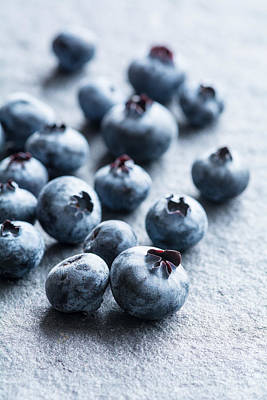 Photograph - Blueberries by Colleen Farrell