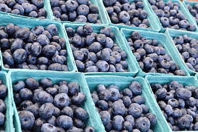 Photograph - Blueberries Forever by Kim Bemis