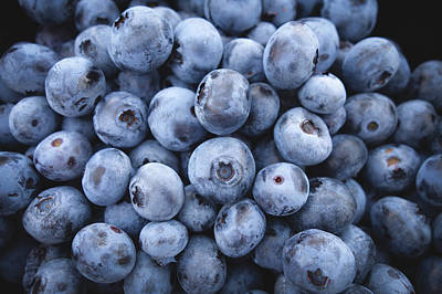 Food And Beverage Royalty-Free and Rights-Managed Images - Blueberries by Happy Home Artistry