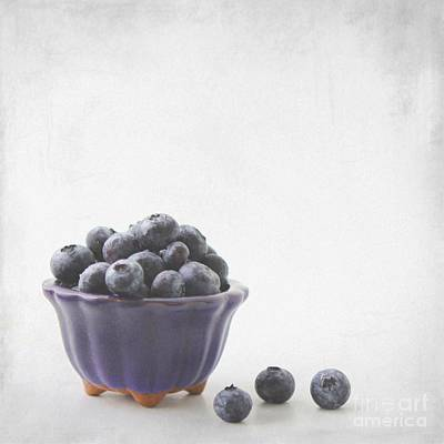 Still Life Photograph - Blueberries by MingTa Li