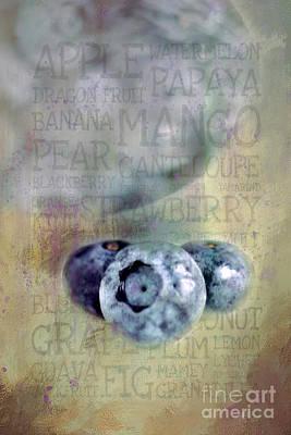 Womens Empowerment - Blueberry Art by Darren Fisher