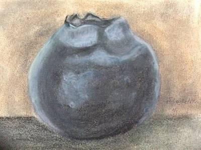 Blueberry Art Print by Fladelita Messerli-