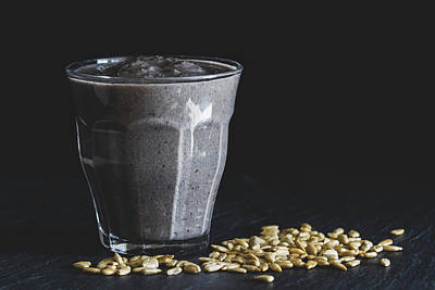 Photograph - Blueberry Kale And Cashew Crunch by Yvette Van Teeffelen