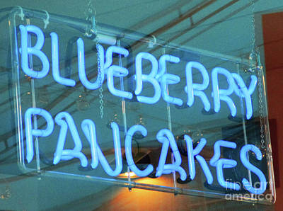 Photograph - Blueberry Pancakes by Randall Weidner