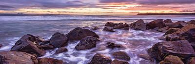 Photograph - Blueberry Sea Pano by Dan McGeorge