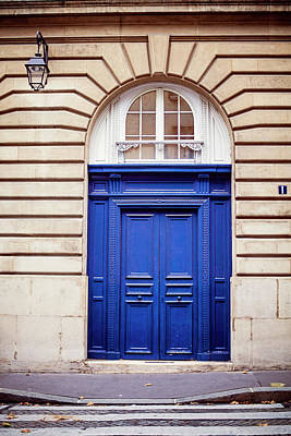 Photograph - Bluebird - Doors In Paris by Melanie Alexandra Price
