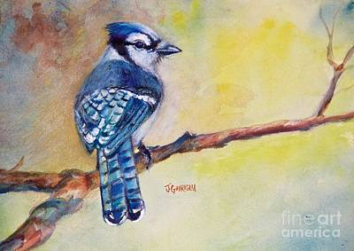 Bluebird Art Print by Joyce A Guariglia