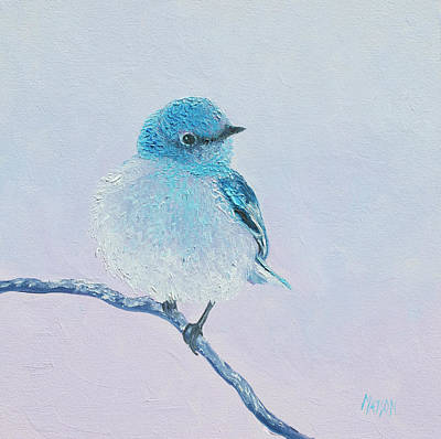 Painting - Bluebird Painting by Jan Matson