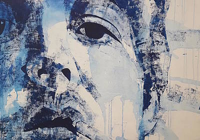 Painting - Bluebird - Paul Mccartney by Paul Lovering