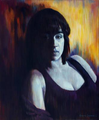Painting - Blueblood by Harvie Brown