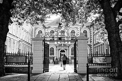Bluecoat Photograph - bluecoat chambers former school Liverpool Merseyside UK by Joe Fox
