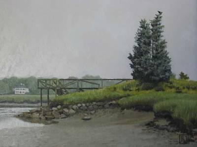 Painting - Bluefish Cove by David Rodman Johnson