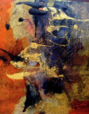 Bluegold 4 Art Print by Gail Butters Cohen