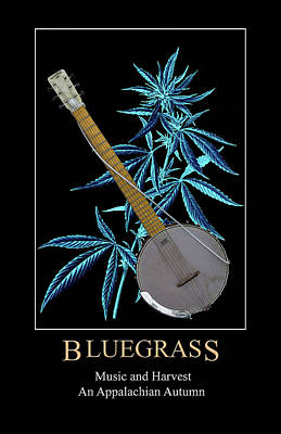 Digital Art - Bluegrass by John Haldane