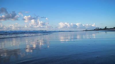Photograph - Blues Beach Delray Beach Florida by Lawrence S Richardson Jr